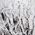 Acryl auf Leinwand / 140 x 140 cm