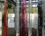 Diaphania / Acrylsäulen bedruckt mit Acryl / Installation im Blühenden Barock Ludwigsburg, Orangerie